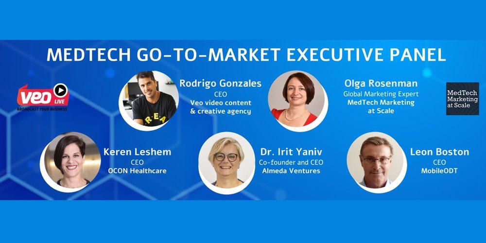 MedTech Go-To-Market Executive Pannel